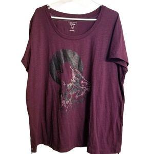 Love & Legend Printed Boyfriend Shirt